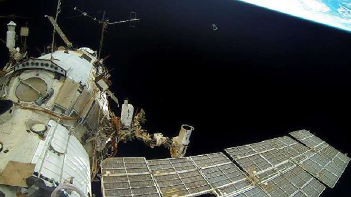 التحام شاحنة فضائية يابانية بالمحطة الدولية