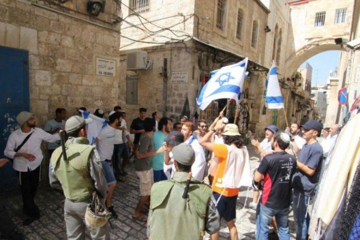 مسيرة استفزازية للمستوطنين في القدس القديمة