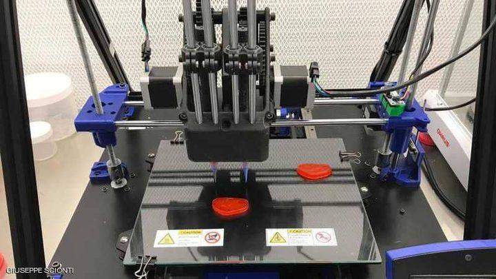 لحم مطبوع بالتقنية ثلاثية الأبعاد