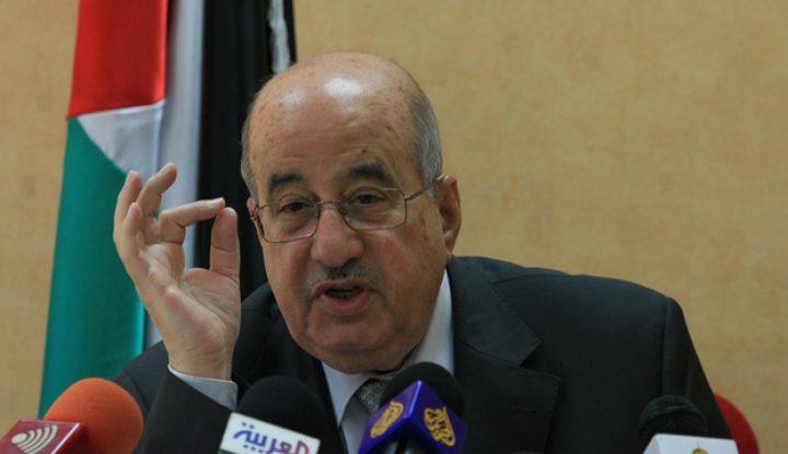 الزعنون: شعبنا صامد وسينتصر على عنصرية إسرائيل