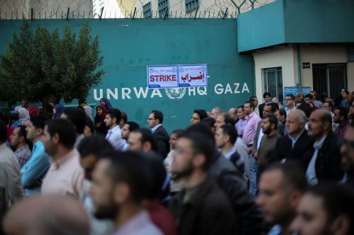 اتحاد موظفي الأونروا: قد تصل خطواتنا لإضراب مفتوح