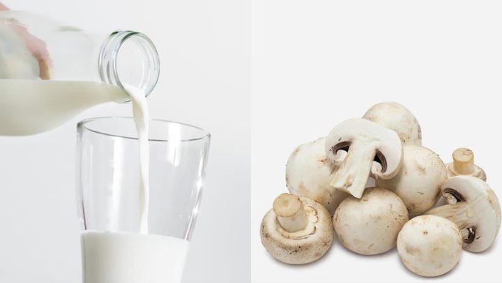 الحليب والفطر ينظمان غلوكوز الدم
