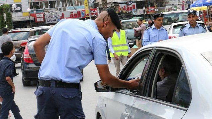 34 ألف مخالفة سير خلال ايلول