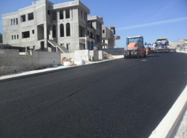 وزارة الأشغال العامّة تباشر بإنشاء طريق جنين-حيفا