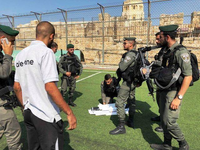 """الاحتلال يقتحم """"برج اللقلق"""" في القدس القديمة ويحتج"""