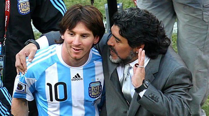 مارادونا ينصح ميسي بعدم اللعب في منتخب الأرجنتين