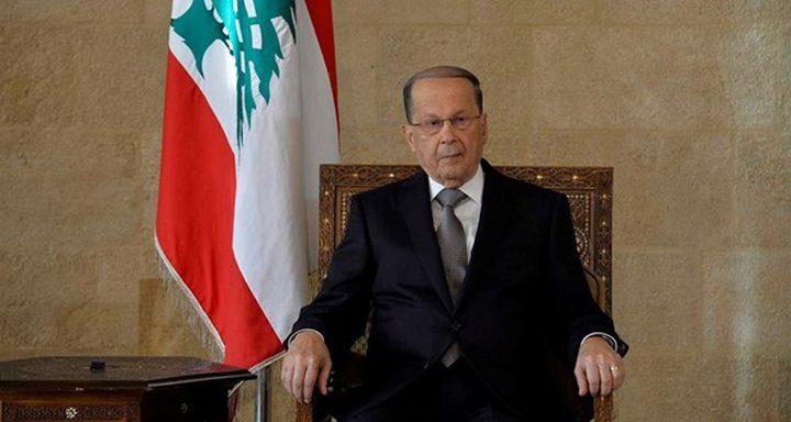 الرئيس اللبناني يرد على نتنياهو