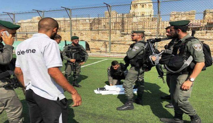 الاحتلال يعرقل تنظيم فعالية رياضية في القدس
