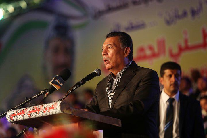 حفل زفاف جماعي أقيم تحت رعاية الرئيس الفلسطيني محمود عباس في مدينة غزة.
