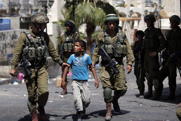 Bilderesultat for اعتقال الاطفال في فلسطين