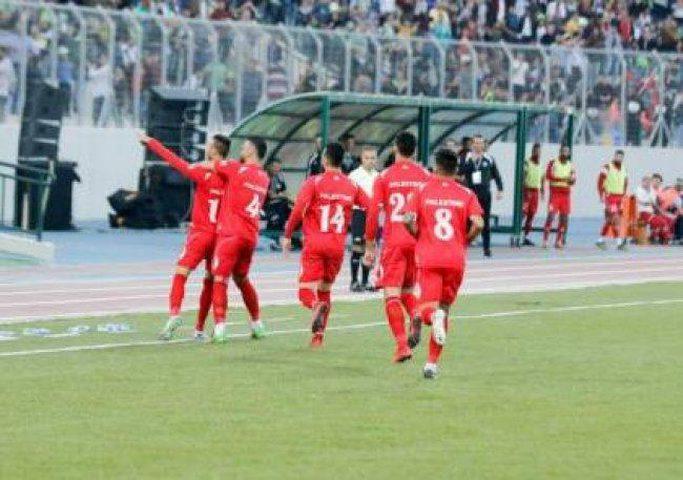 فلسطين تفوز على طاجكستان في الكأس الذهبية