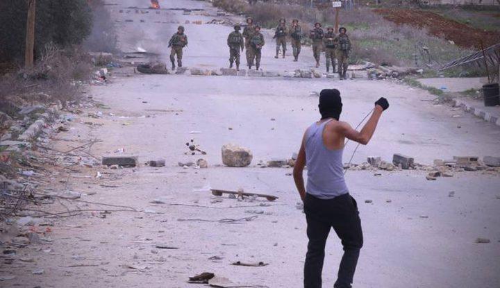 إصابات في مواجهات مع الاحتلال في اللبن الشرقية