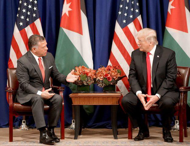 ملك الأردن: رفضنا مقترحات أميركية تمس اللاجئين