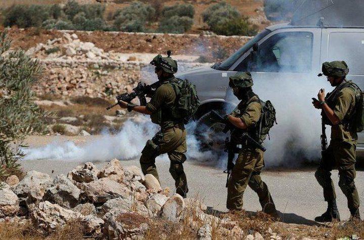 مواجهات عقب اقتحام الاحتلال بلدة عزون