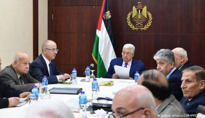 التنفيذية تعقد اجتماعا يوم غد برئاسة الرئيس