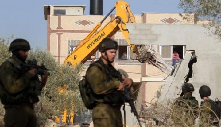 الاحتلال يهدم غرفتين سكنيتين في قرية الحلاوة