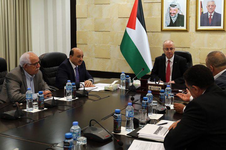 خلال ترأس رئيس الوزراء د. رامي الحمد الله، اليوم اجتماعا للمجلس الأعلى للإسكان.