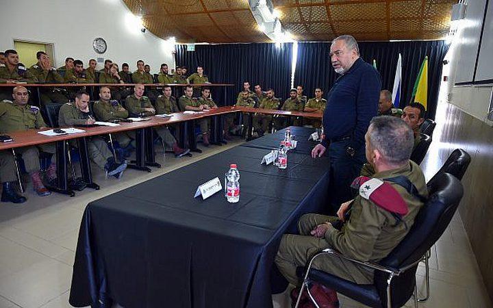 ليبرمان : فرض الهدوء في غزة يحتاج ضربة عسكرية قوية