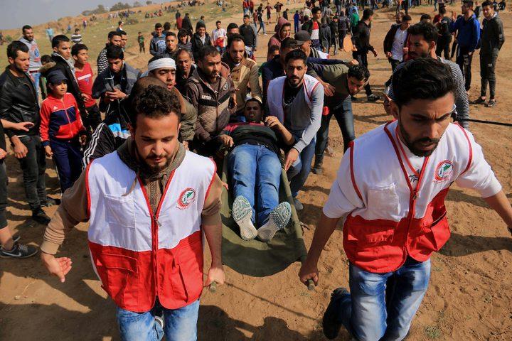 إصابة مواطنين برصاص الاحتلال شرق دير البلح