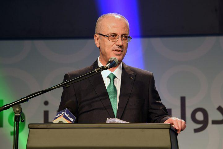 مشاركة رئيس الوزراء د. رامي الحمدلله في حفل الإعلان عن جائزة فلسطين الدولية للإبداع والتميز.