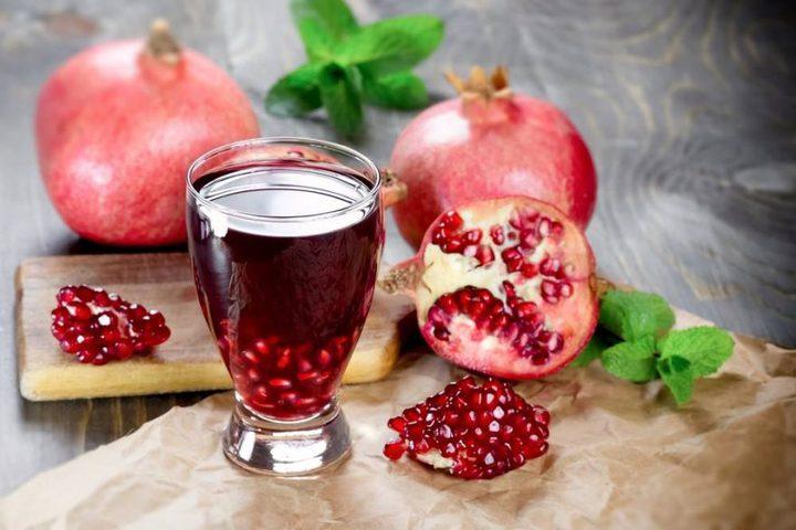 عصير الرمان وفوائده المذهلة