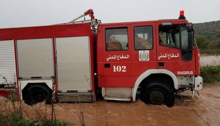 الدفاع المدني يتعامل مع 125 حادثاً خلال 24 ساعة