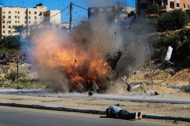 مناورة شمال قطاع غزة