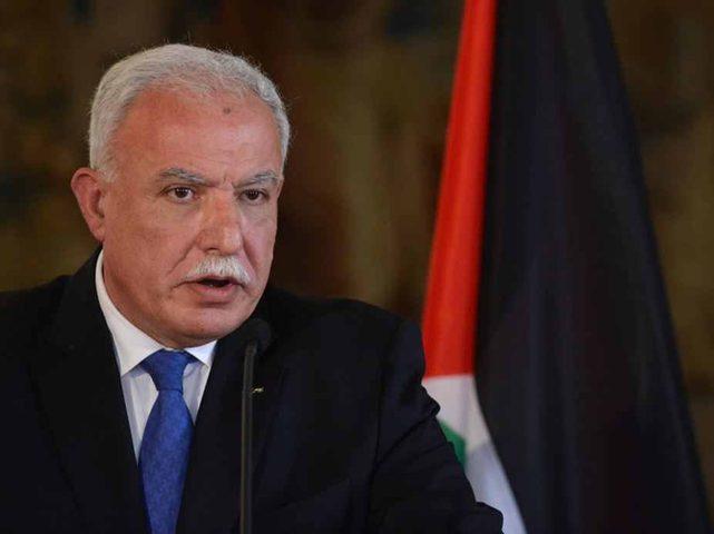 المالكي: دولة فلسطين ملتزمة بحل الدولتين