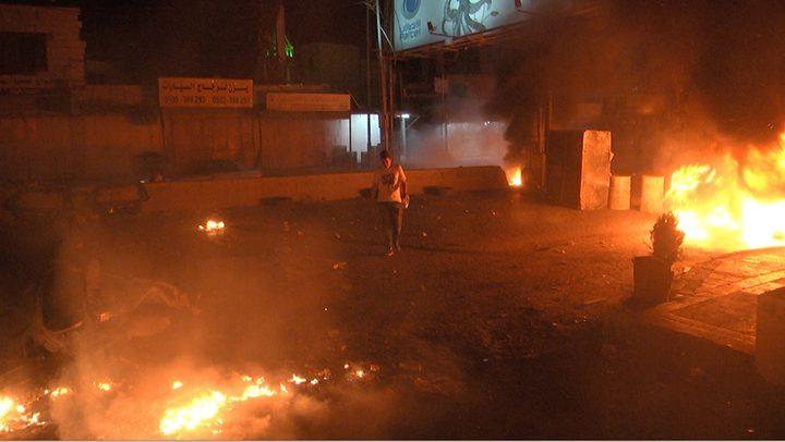 اصابات جراء شجارات عنيفة في 6 مدن بالداخل المحتل