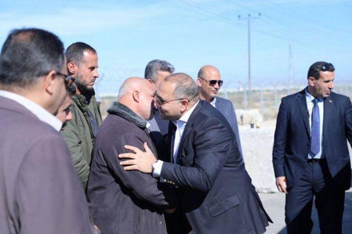الوفد الأمني المصري يزور مخيمات العودة شرق غزة