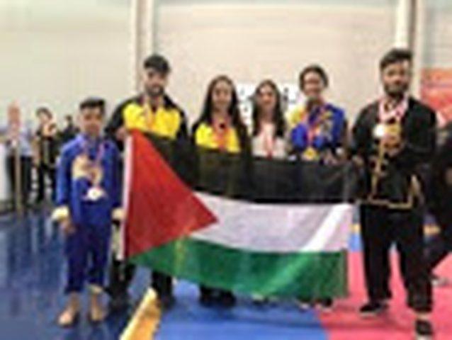 المنتخب الفلسطيني يحصد 7 ميداليات في فنون القتال