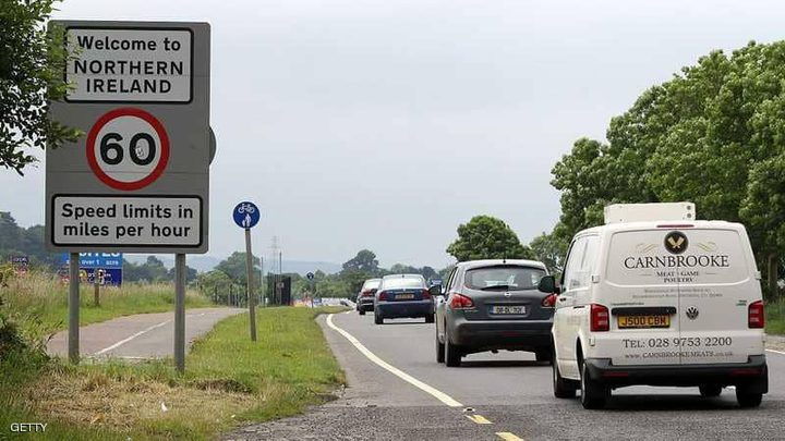 "اتفاق ""مؤقت"" بشأن حدود أيرلندا بعد بريكست"