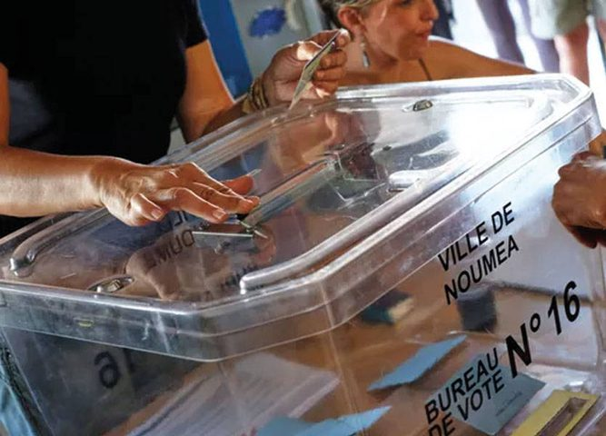 استفتاء في كاليدونيا الجديدة للانفصال عن فرنسا