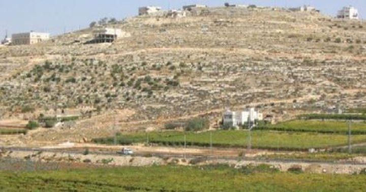 الاحتلال يستولي على 155 دونما من أراضي اللبن الغرب