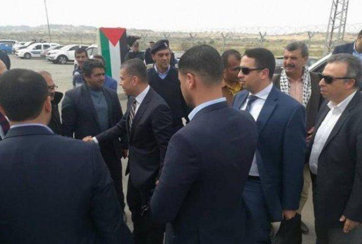 الوفد الأمني المصري يصل غزة