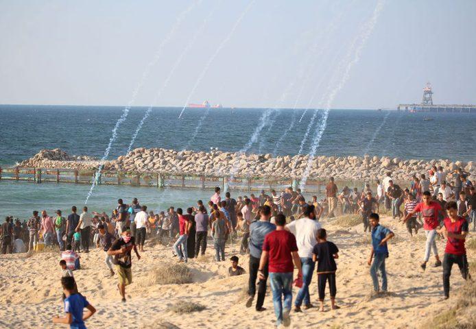 الوفد الأمني المصري يطلب من حماس وقف مسيرات العودة