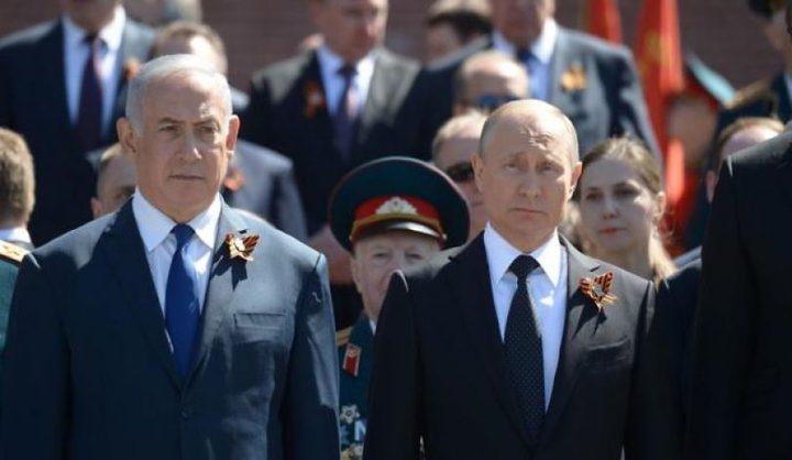 إلغاء لقاء بين بوتين ونتنياهو في باريس