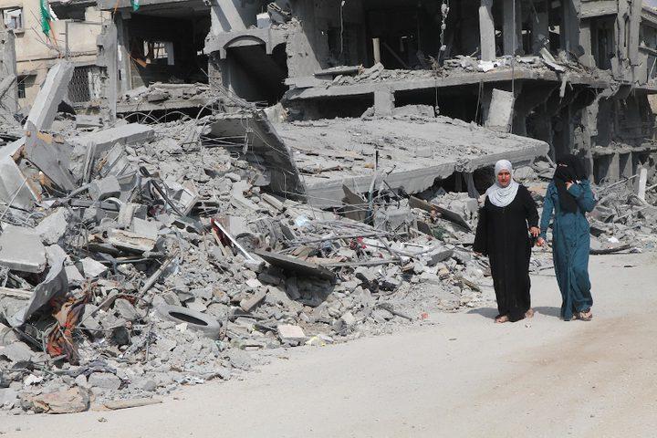 الأونروا توقف صرف بدل ايجار للمدمرة منازلهم في غزة