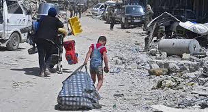 عودة أهالي مخيم اليرموك إلى بيوتهم خلال أشهر