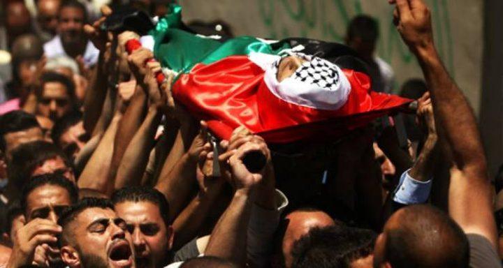 الاحتلال يسلم غداً جثمان الشهيد محمد عليان