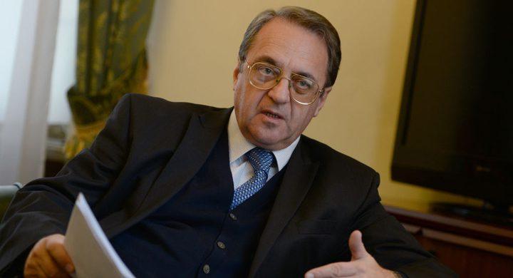 روسيا تؤكد دعمها لمبادرة الرئيس عقد مؤتمر للسلام