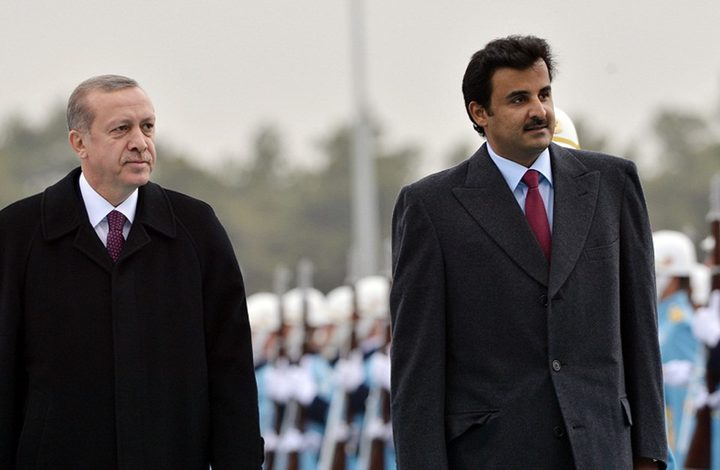 أردوغان يستضيف أمير قطر الجمعة