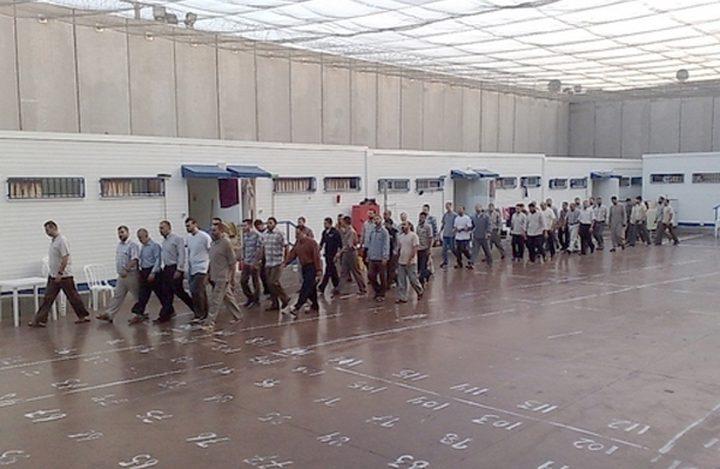 """معاناة الأسرى في معتقل """"عتصيون"""" تتفاقم مع الشتاء"""