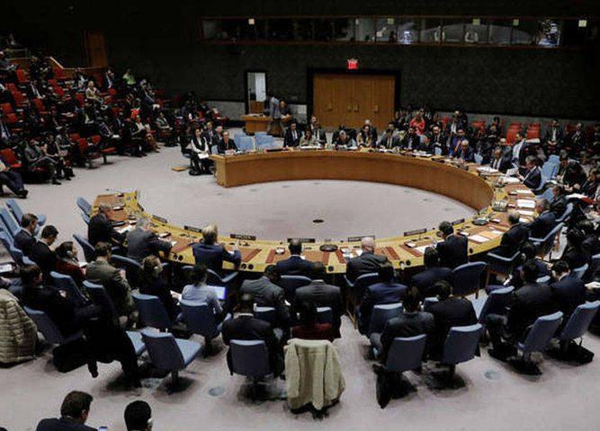 إجتماع مغلق لمجلس الأمن الدولي
