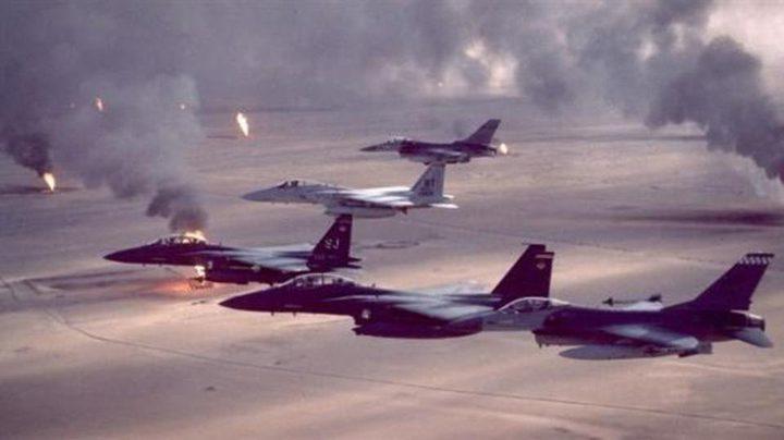 التحالف الدولي يقصف أهدافا لداعش قرب الموصل