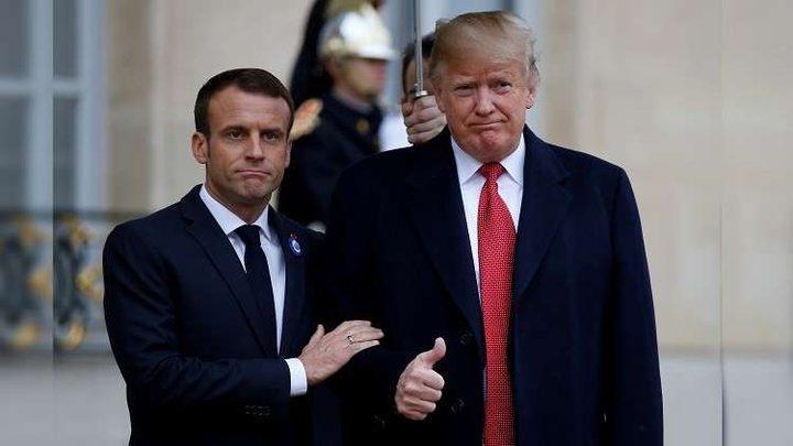 ماكرون: لا ينبغي أن يكون أمن أوروبا بيد واشنطن