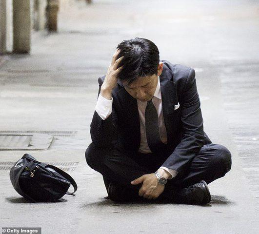 ارتفاع انتحار الرجال اليابانيين قبل الذهاب للعمل