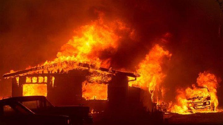 تدمير بلدة باراديس بالكامل