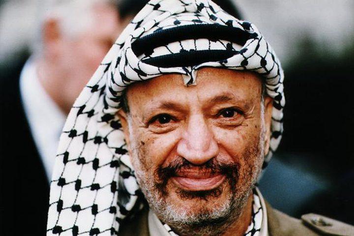 """الفلسطينيون يستذكرون """"الختيار"""" في ذكرى استشهاده"""