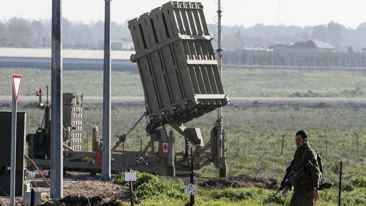 """القبة الحديدية"""" تعترض قذيفتين أُطلقتا من قطاع غزة"""